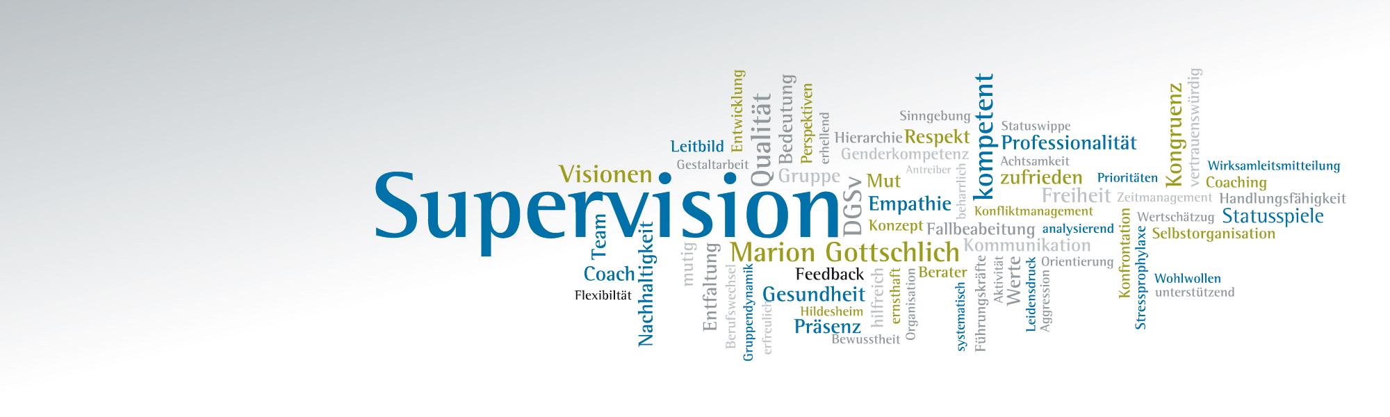 Marion Gottschlich Supervision Hildesheim